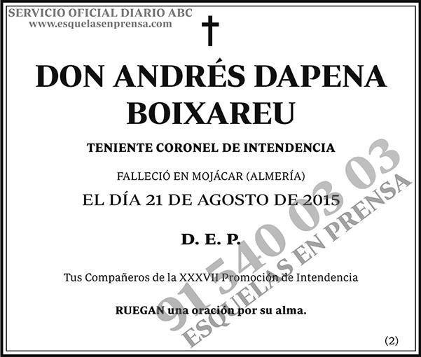 Andrés Dapena Boixareu